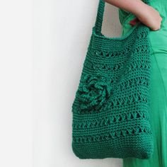 Eco Friendly Green Hemp Bag Mold  Mildew Resistant by twoknit, $65.00