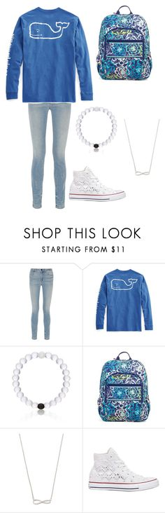 """""""cute and casual"""" by hc-sorme ❤ liked on Polyvore featuring Alexander Wang, Vineyard Vines, Everest, Vera Bradley and Converse"""