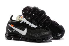 new arrival 781a2 040c4 Cheap Mens Womens Nike Air VaporMax Flyknit Running Shoes Black White  849558 099 For Sale , The Nike VaporMax is a new running shoe from Nike.
