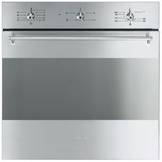 SF341GVX: Oven Smeg designed in Italy, has functional characteristics of quality with a design that combines style and high technology. See it at www.smeg.com