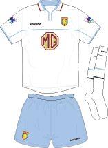 Aston Villa Football Kits Away Kit 2002-2003