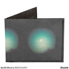 Spotlit Moon Tyvek Wallet