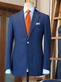 Resultado de imagen para trajes de novio con corbata naranja