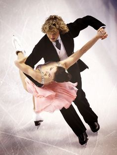 Meryl Davis and Charlie White - my favorites, they are so very talented and in tune with each other.