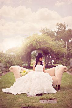 Fairy Tale Bridal Portraits.