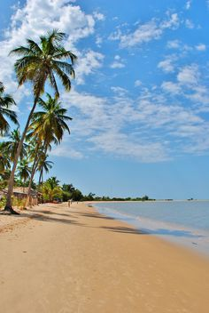 Beach on Carabane Island   Elinkine, Ziguinchor, Senegal