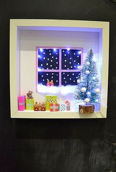 Mommo Design On Bloglovin Xmas Crafts, Christmas Projects, Christmas  Holidays, Christmas Frames,