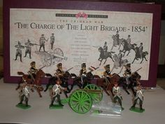 BRITAINS 5197 CRIMEAN WAR CHARGE OF THE LIGHT BRIGADE 1854 METAL TOY SOLDIER SET