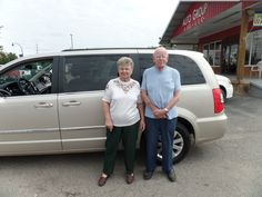 Congratulations to Virgil and Elizabeth Coomer on their purchase of a new Chrysler Town & Country! We really appreciate the opportunity to earn your business and hope you enjoy your new vehicle!