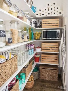 Astonishing Pantry Organization Ideas https://www.futuristarchitecture.com/26538-pantry-organization.html