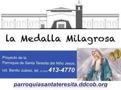 Proyecto de la Parroquia de Santa Teresita del Niño Jesús promovido por el Pbro. Rolando Caballero Navarro.