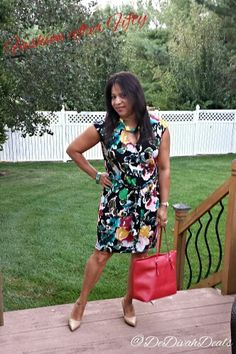 Fashion after Fifty #ootd #dressforless #fashionafter50 #thrifted @Goodwillde #DelawareBlogger #dedivahdeals