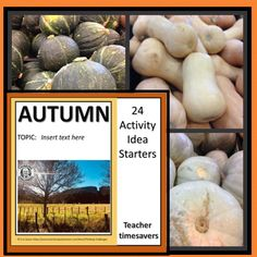 These no prep Back to school Activities starters for Autumn are practical time savers for busy teachers. The activities can be easily adapted to suit a variety of topics. Busy Teachers, Thematic Units, Back To School Activities, Autumn Activities, Upper Elementary, Have Time, Starters, Middle School, How To Find Out
