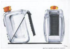 Bottle Design idea sketch 2010 on Behance