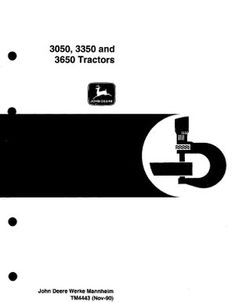 John deere 2040 and 2240 tractor technical manual tm 1221 pdf john john deere 3050 3350 3650 service repair manual tm4443 fandeluxe Image collections