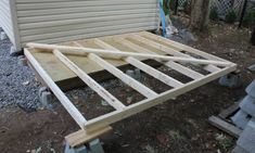 building shed back wall