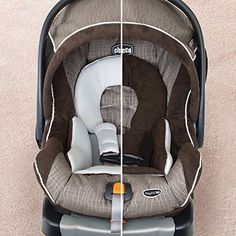 Baby Chicco Keyfit 30 Magic Infant Car Seat Black Grey Adjustable Head Support