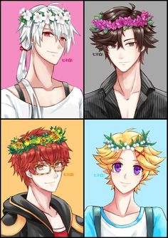 zen, mystic messenger, and luciel choi 이미지