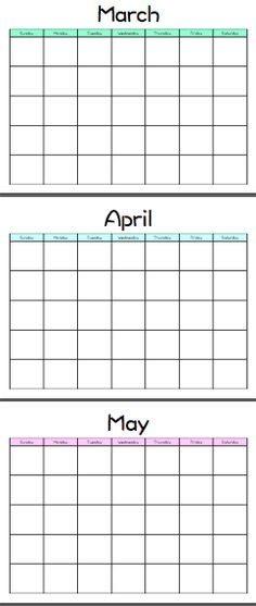 Get free blank printable 2019 2020 2021 2022 Calendar template - blank method statement