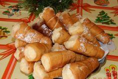 Retete Culinare - Rulouri cu crema de vanilie