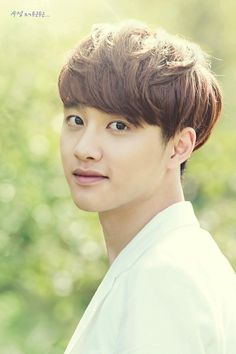 kyungsoo ♡ #EXO // Nature Republic...look at DO soooo cute and handsome, he has beautiful voice and he has the face.....