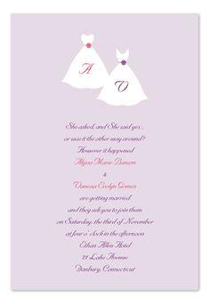 www.BoscoWeddings.com, Gay Wedding Invitations, Lesbian Wedding Invitations, Same-Sex Wedding Invitations, LGBT Wedding Invitations