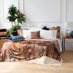 VELVET PRINTED BEDSPREAD - Bedspreads - Bedroom | Zara Home United States