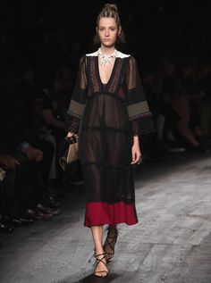 Every Single Look From Valentino Spring 2016 via @WhoWhatWear
