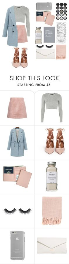 """Brrr.. Bad look"" by jfcgvhbjn ❤ liked on Polyvore featuring Acne Studios, Topshop, Aquazzura, Royce Leather, Très Pure, Surya, Case-Mate and Vera Bradley"