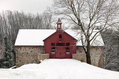 Updated Barn Exterior