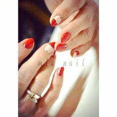 「ルブタンカラー♡ red & black 最強♡♡ #mda#mdanail#louboutin#gelnail#nailartcrazy#nailmania#japaneseart#love#trend#fashion#ネイル#ジェルネイル#ネイルアート#ネイルサロン#銀座ネイル#美甲#ルブタン」