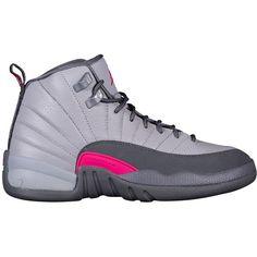 281a76ba5ca5 Jordan Retro 12 - Girls  Grade School - Basketball - Shoes - Wolf.