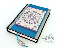 premo! Silkscreened Journal from Sculpey