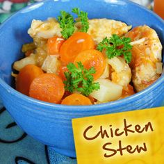 Hispanic Diabetes Recipes: Chicken Stew