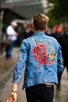 The strongest street style at London Collections Men S/S '17