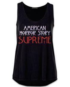 941ebdb939 American Horror Story SupremeTank Top Blck Shirt Size 2XL