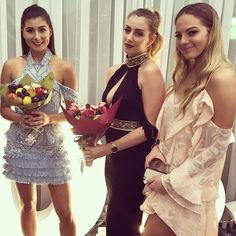 Beautiful ladies with LunchBunch bouquets  @bossbabes_inc