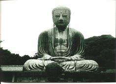 The Great Buddha of Kamakura, located at the Kōtoku-in Temple in Kamakura, Kanagawa Prefecture, Japan, c. Kamakura, Kyoto, Buddhist Meditation Techniques, Buddha, Vipassana Meditation, Kanagawa Prefecture, Buddhist Temple, Ancient Art, Japanese