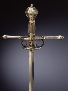 Rapier    Dated: late 16th/early 17th Century  Culture: German, Dresden…