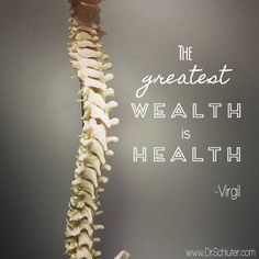 It's absolutely true that the greatest wealth in life is health :) The sky is your limit with a healthy body, healthy mind, and healthy life :) fhchiro.co.nz