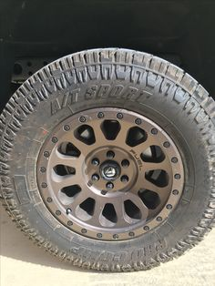 Fuel Off Road Wheels Powder coated Beaver Bronze