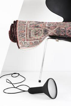 MyDubio | Arne Jacobsen ant chair | torch light Establishedandsons | faded carpet