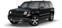 2017 Jeep Patriot Black