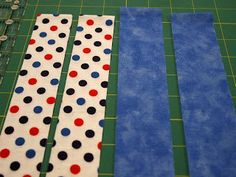 Actual Tutorial:  Faux piping binding for quilt  ~  A hidden way to machine stitch the entire binding and it leaves a cool pop of color ~ ~Susie's Magic Binding