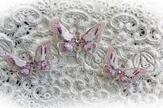 Reneabouquets Butterfly Set Ice Princess by Reneabouquets on Etsy