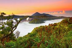 Bromo, a view from Pananjakan, Indonesia