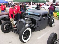 Bobber truck.  Hot rod.
