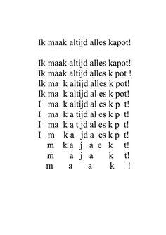 """Gedicht uit """"Ik snap het niet"""" van Marieke Nijhof"""