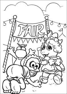 Muppets Fargelegging. Tegninger 22