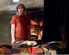 A Crazy Crafty World: Knit A Long Ron Weasley Blanket